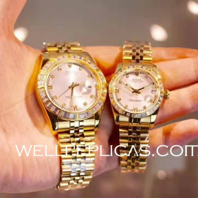 Rolex Latest Business Datejust Couple Pair Watch