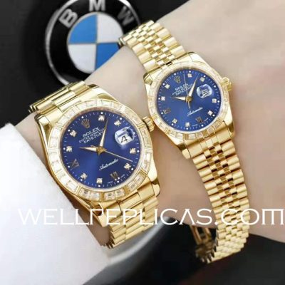 Rolex Couple Watch Datejust Series Men's Watch 41mm Female Watch 31mm