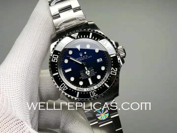 Switzerland Rolex Sea-Dweller Man Automatic Mechanical Blue Gradient Dail