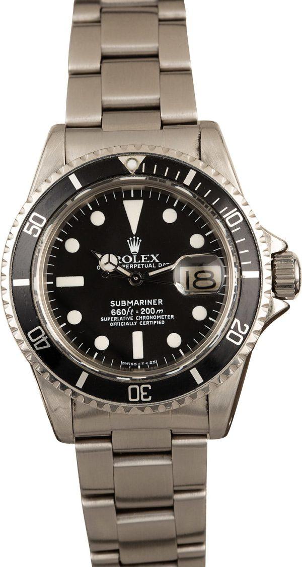 Watch Replicas Online Free Vintage 1978 Rolex 1680 Submariner
