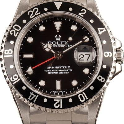 Best Rolex Replicas Rolex Gmt Master Ii 16710 Red Gmt Hand
