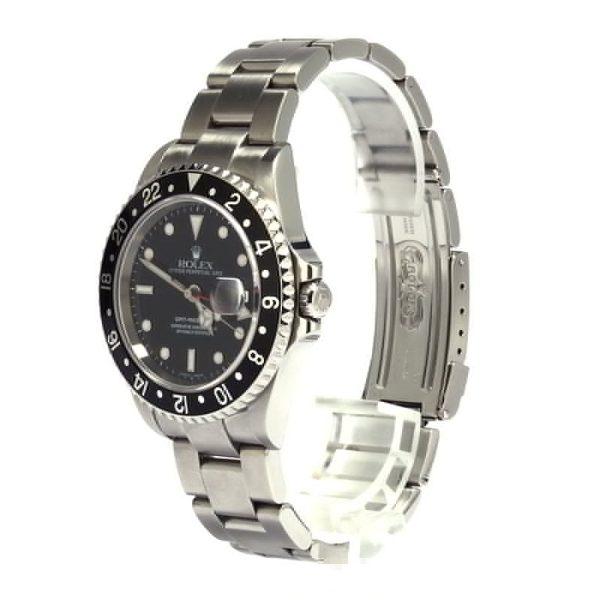 Best Fake Watchesgmt-master Ii Rolex 16710 Black Bezel