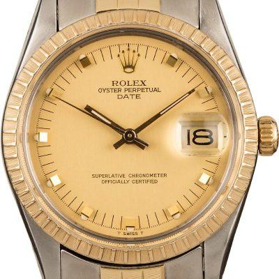 Rolex Daytona Replica Rolex Date 15053 Champagne Dial