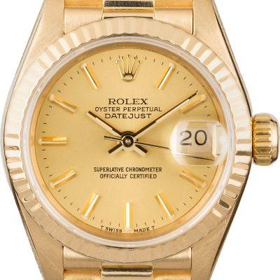 Imitation Rolex Watches Rolex Lady Presidential 69178 Fluted Bezel