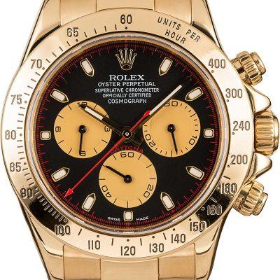 Replica Watches Reddit Rolex Daytona 116528 18k Yellow Gold