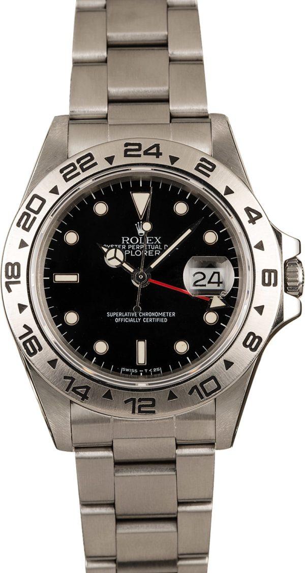 Replica Rolex Explorer 16550 Black Dial