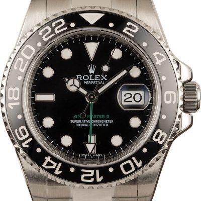 Replica Luxury Watches 40mm Rolex 116710 Gmt-master Ii