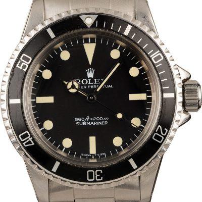 Best Replica Watches Vintage 1977 Rolex Submariner 5513 Stainless Steel