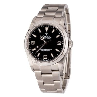 The Best Replica Watches In The Worldrolex Explorer I 114270 Steel 100% Authentic