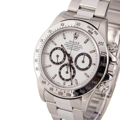 Top 10 Replica Watch Sites Rolex Zenith Daytona 16520 White Dial