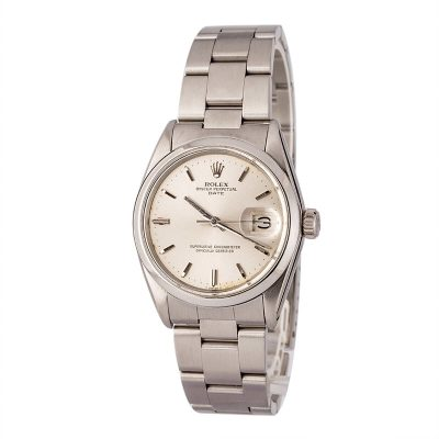 Cheap Replica Watches Rolex Date 1500 Silver Index Dial