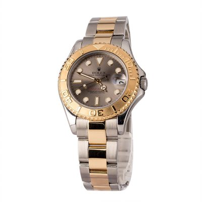 Reputable Replica Watch Sitesrolex Mid-size Yacht Master 168623 Slate Dial