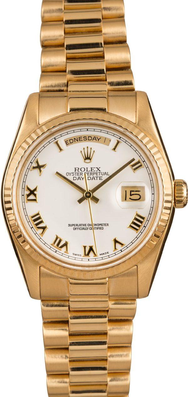 Rolex Replicas Swiss Made Grade 1 Rolex President 118238 Roman Dial