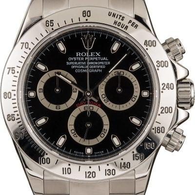 Noob 3135 Replica Rolex Daytona Steel 116520 Steel Oyster Bracelet
