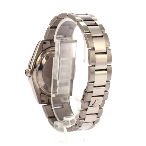 Imitation Rolex Rolex Day-date 118209 White Dial 18k White Gold