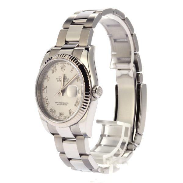 Men Replica Watch Rolex Datejust 116234 Silver Automatic 3135