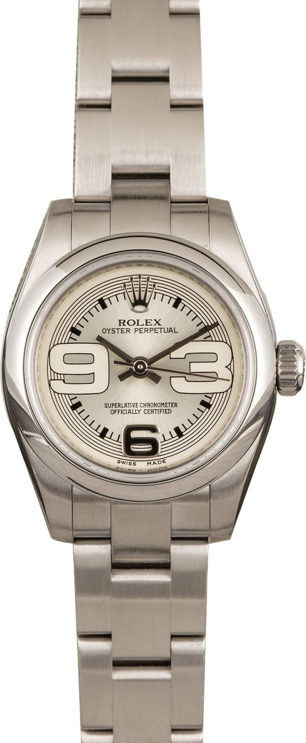 Ladies Replica Watches Steel Oyster Perpetual 176200 Stainless Steel 904L