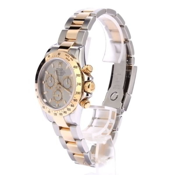 Automatic 4130 Men Rolex Daytona Two Tone 116523 Stainless Steel