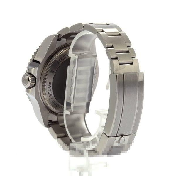 Men Replica Rolex Sea-dweller Deepsea 126660 Dial Deep Blue Stainless Steel