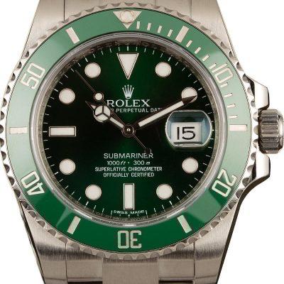Men Case 40mm Fake Rolex Submariner 116610lv 904l Stainless Steel