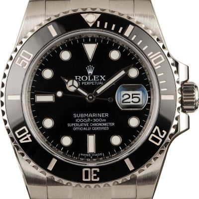 Men Case 40mm Replica Rolex Submariner 116610ln Dial Black Stainless Steel