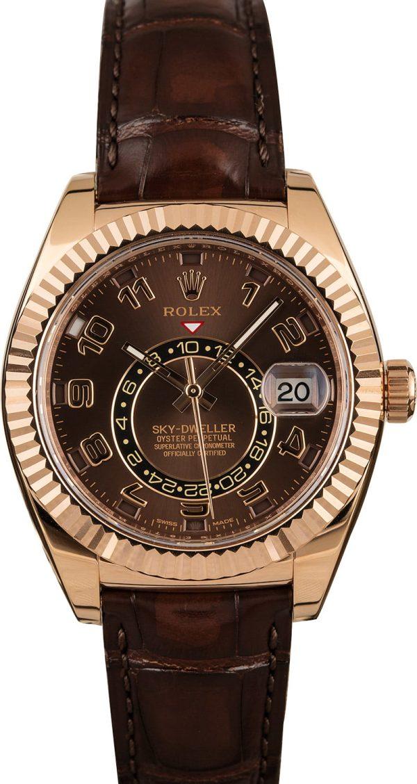 Men Automatic 9001 Replica Rolex Sky-dweller 326135 Case 42mm
