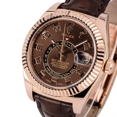 Men Automatic 9001 Replica Rolex Sky-dweller 326135 Case 42mm