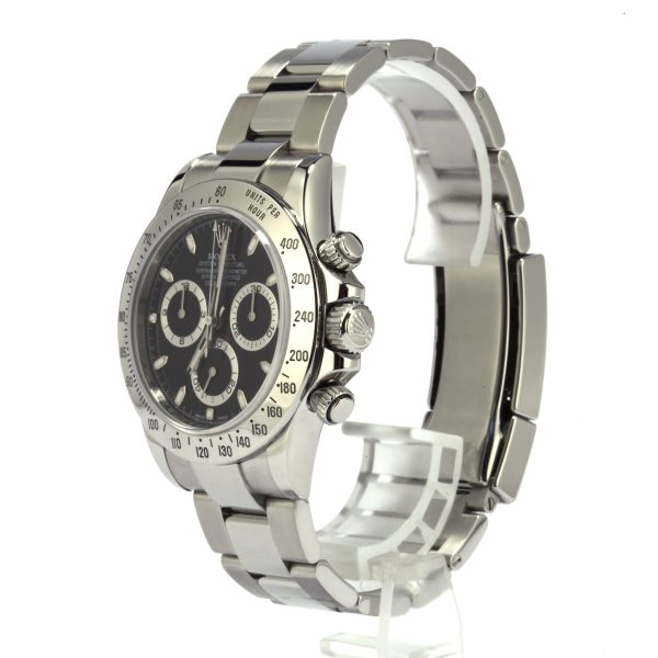 Men Case 40mm Fake Rolex Daytona 116520 Dial Black Automatic 4130