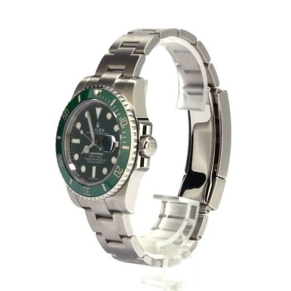 Men Dial Green Replica Rolex Submariner 116610lv Case 40mm Stainless Steel