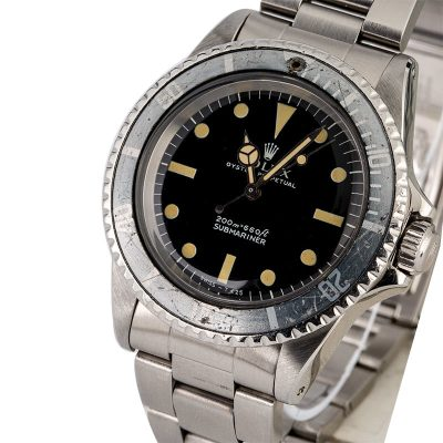 Men Replica Vintage Rolex Submariner 5513 Automatic 1520