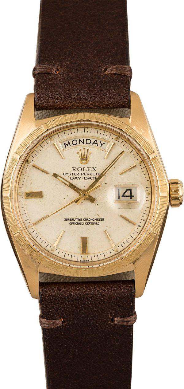 Replica Rolex Day-date 1807 Men Case 36mm 18k Yellow Gold