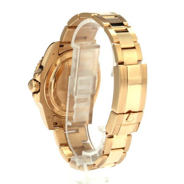 Fake Rolex Gmt-master Ii Ref 116718 Men's Dial Black Automatic 3186