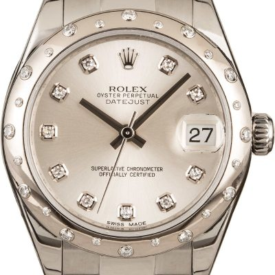 Rolex 178344 Datejust Fake Ladies Mid-size Case 31mm Automatic 2235