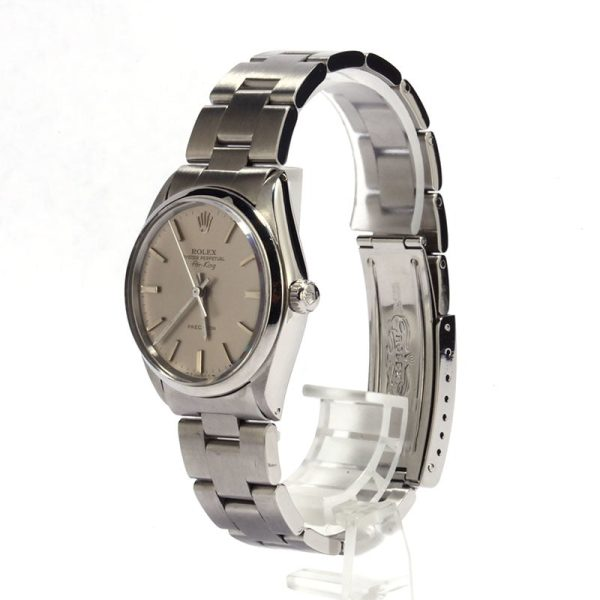 Rolex Oyster Perpetual Men's Replica Dial Silver Index Automatic 1520
