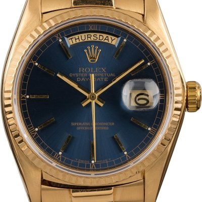 Rolex Day-date18038 Fake Men's Case 36mm 18k Yellow Gold Automatic 3055