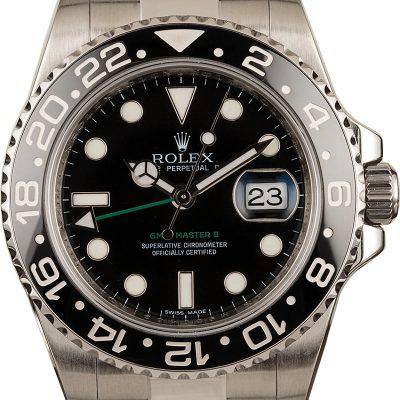 Rolex Gmt-master Ii - 116710ln Men's Dial Black Stainless Steel