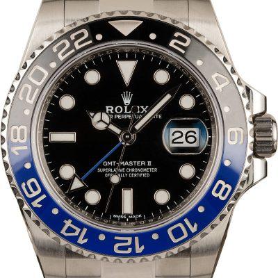 Rolex Gmt-master Ii - 116710blnr Men's Dial Black Stainless Steel Oyster