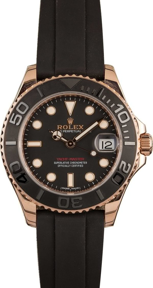 Rolex Yacht-master 268655 Case Mid-size 37mm 18k Everose Gold