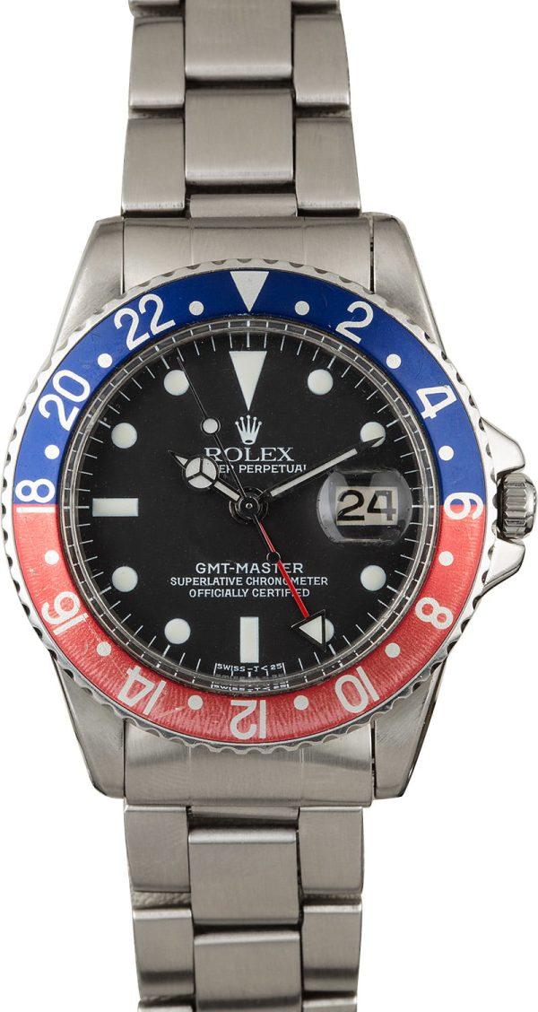 Rolex Gmt-master 1675 Men's Automatic 1560 Movement