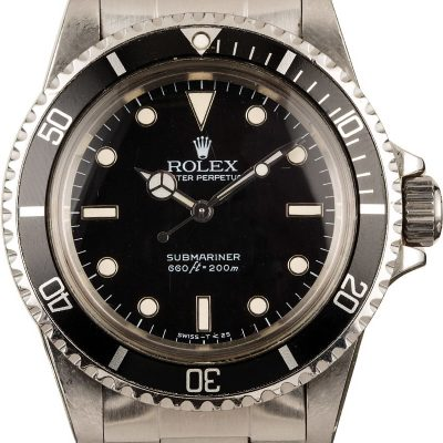 Rolex Submariner 5513 Men's Dial white gold Automatic 1520