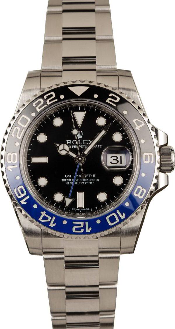 Rolex Gmt-master Ii - 116710blnr Men's Case 40mm Stainless Steel