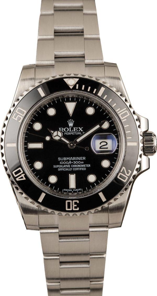 Rolex submariner 116610 Men's Black Dial 40 MM Automatic 3135