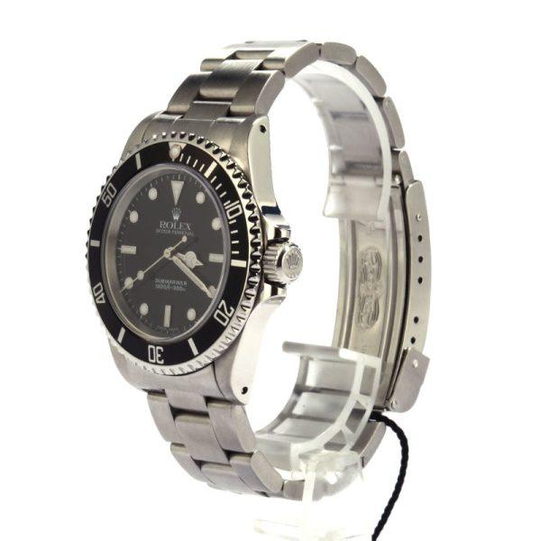 Rolex Submariner 14060 Men's Black Dial 40MM Automatic 3130