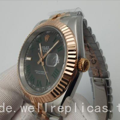 Rolex Datejust 126331-0016 Herrenetui 41 Mm Oystersteel Edelstahl