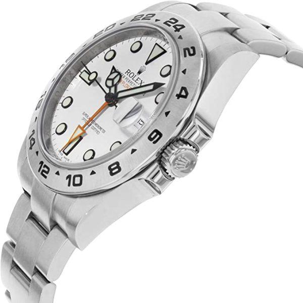 Rolex Explorer II 216570 Weißes Zifferblatt 42mm Herren runde Automatikuhr